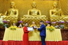 Chùa Giác Ngộ: Ấm áp lễ hằng thuận của Nguyễn Khánh Duy và Vũ Thị Ngọc