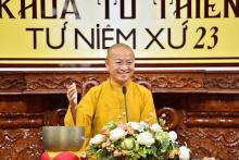Chùa Giác Ngộ: Khoá tu Thiền Tứ Niệm Xứ - lần thứ 23 (15-07-2018)