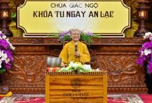 KHÓA TU ''NGÀY AN LẠC'' CUỐI NĂM 2017
