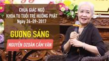 Gương Sáng 17: Đầu bếp Nguyễn Dzoãn Cẩm Vân