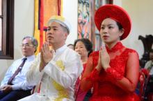 Chùa Giác Ngộ: Lễ hằng thuận của hai Phật tử Trí Tấn và Bích Nhu
